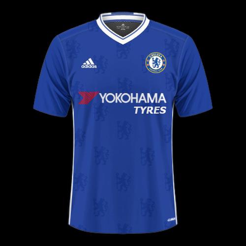 Chelsea 2016/17 - Home