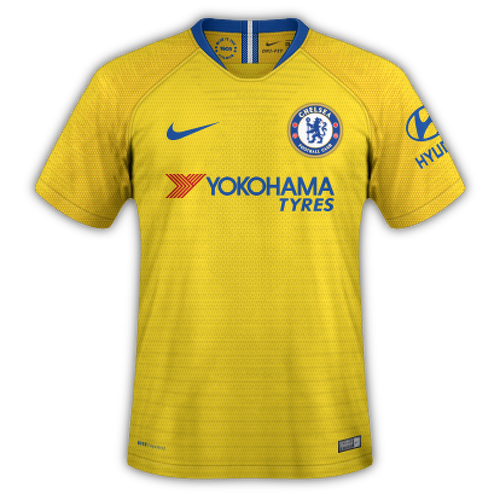 Chelsea 2018/19 - Away