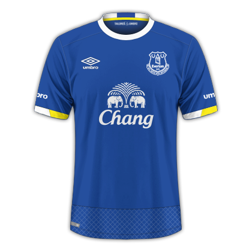 Everton 2016/17 - Home