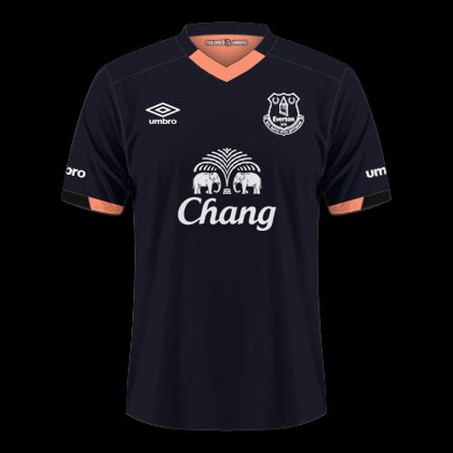 Everton 2016/17 - Away