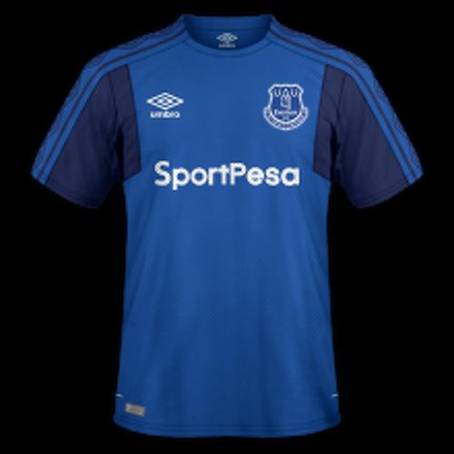 Everton 2017/18 - Home