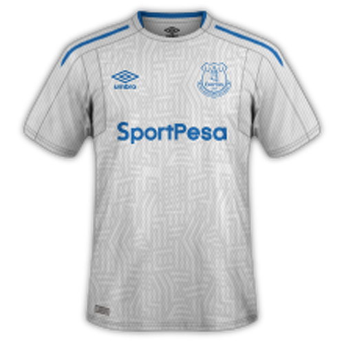 Everton 2017/18 - Away