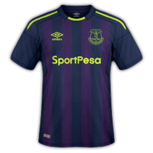 Everton 2017/18 - Third