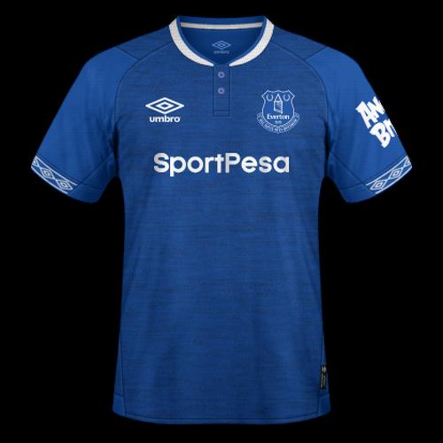 Everton 2018/19 - Home
