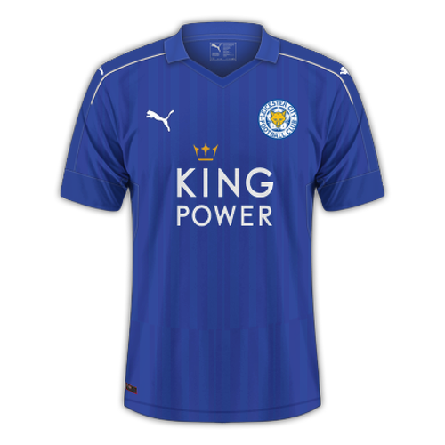 Leicester 2016/17 - Home