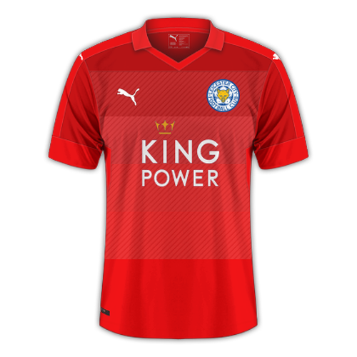 Leicester 2016/17 - Away