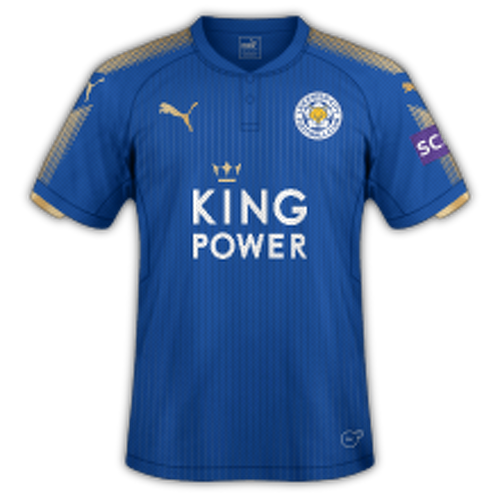 Leicester 2017/18 - Home