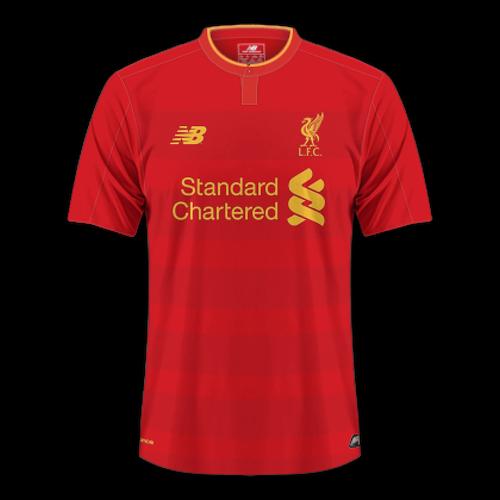 Liverpool 2016/17 - Home