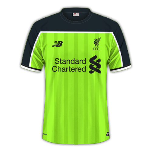 Liverpool 2016/17 - Third
