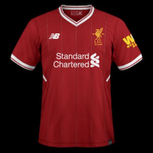 Liverpool 2017/18 - Home