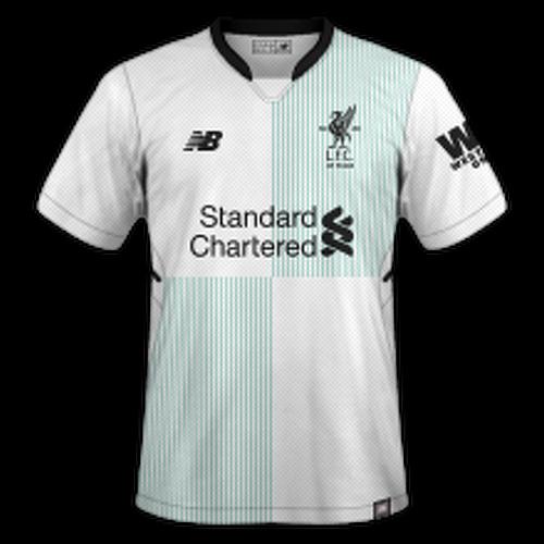 Liverpool 2017/18 - Away