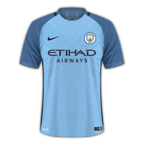 Manchester City 2016/17 - Home