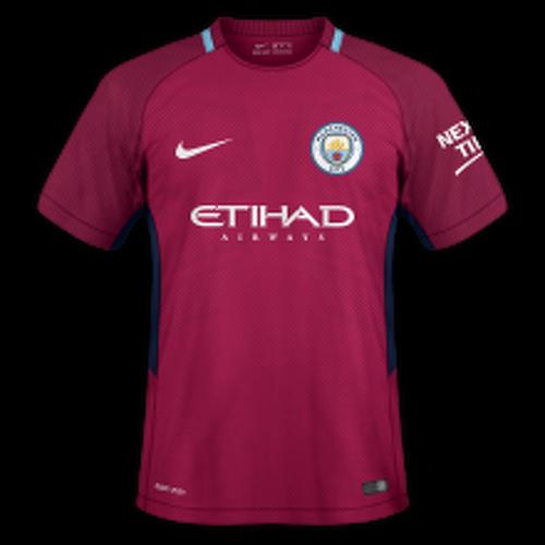 Manchester City 2017/18 - Away