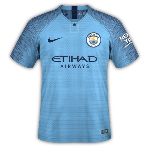 Manchester City 2018/19 - Home
