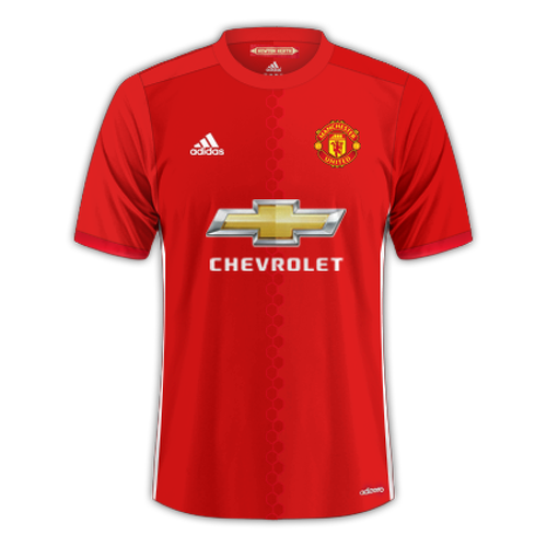 Manchester United 2016/17 - Home