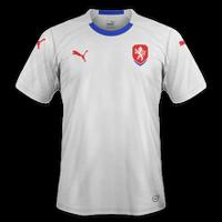 Czech Republic 2018 - Visitante