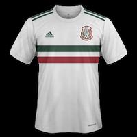 Mexico 2018 - Away