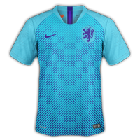 Netherlands 2018 - Away