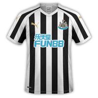 Newcastle 2018/19 - Home