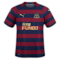 Newcastle 2018/19 - Away