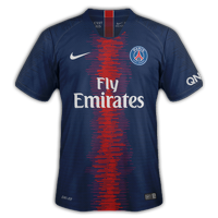 Paris Saint-Germain 2018/19 - Domicile