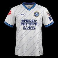 Pattaya United 2018 - Visitante