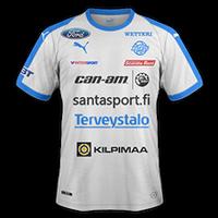 Rovaniemen Palloseura 2018 - Away
