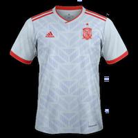 Spain 2018 - Away