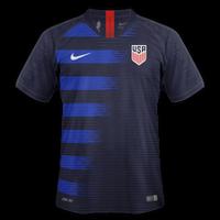 USA 2018 - Away