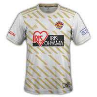 Vegalta Sendai 2018 - Away