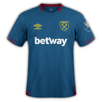 West Ham 2018/19 - Away