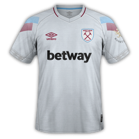 West Ham 2018/19 - Third