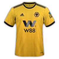 Wolves 2018/19 - Home